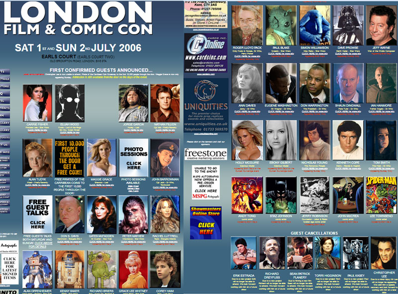 2006 LFCC Guest List