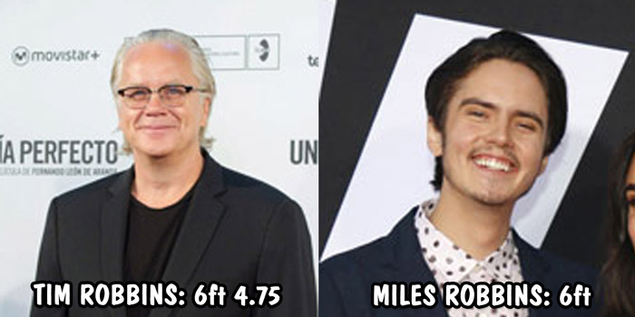 Tim Robbins and Miles