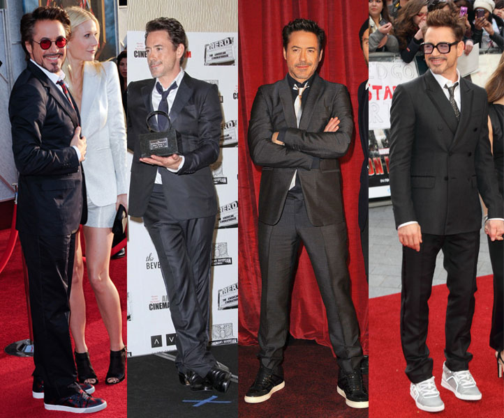 Downey Jr Shoe Lifts