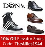 Elevator Shoes by Dons