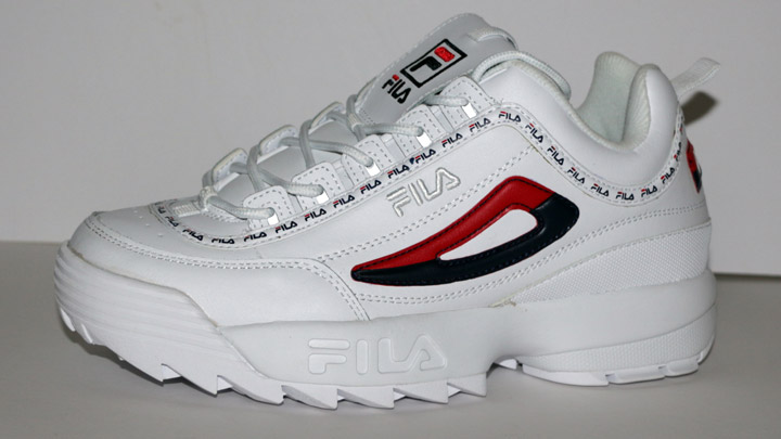 How much height do Fila Disruptors add?
