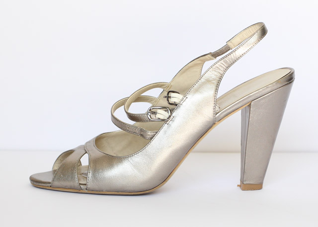 Ladies heel heights explained celebheights the platform on this heel is a typical flat style around 03 inches altavistaventures Image collections