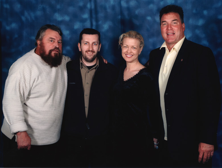 How tall is Brian Blessed