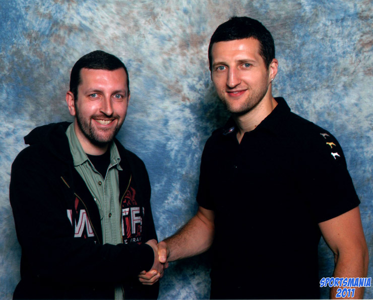 How tall is Carl Froch
