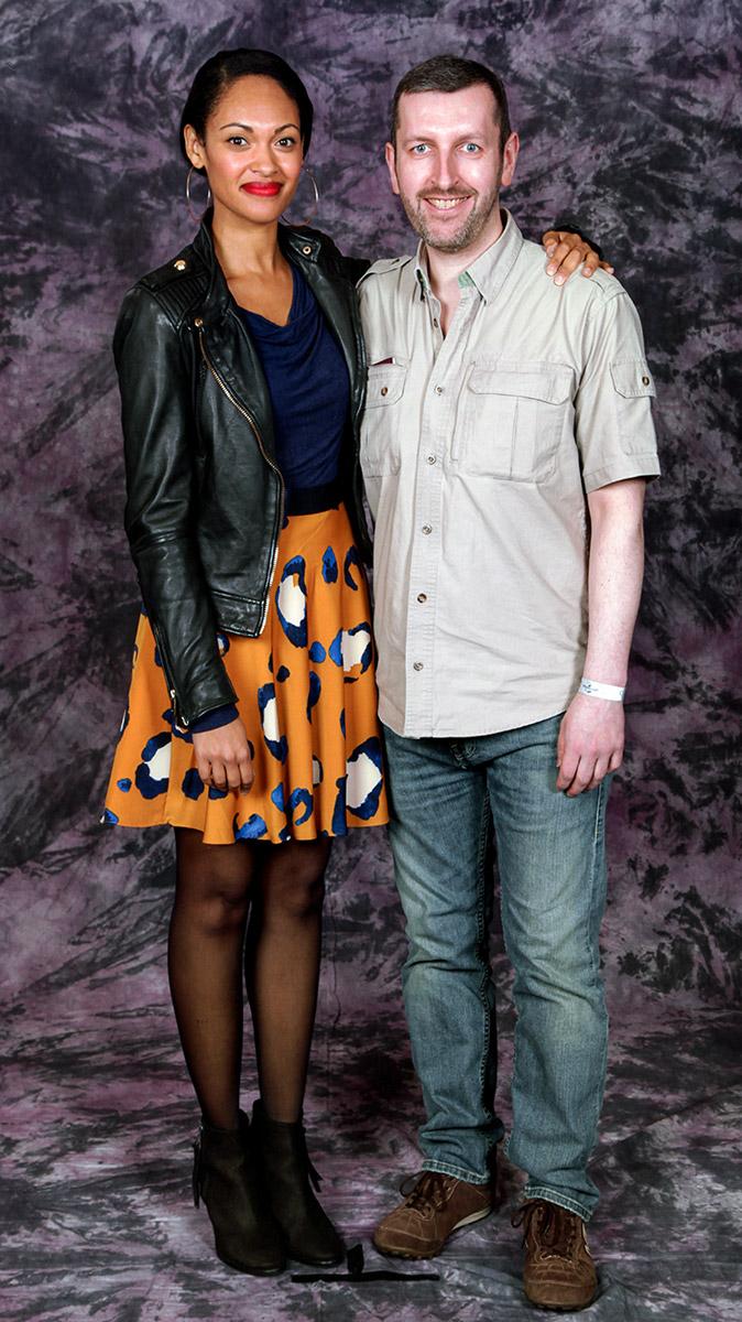 How tall is Cynthia Addai Robinson
