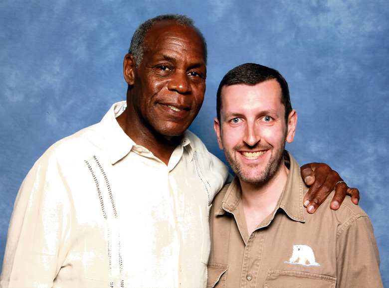 How tall is Danny Glover