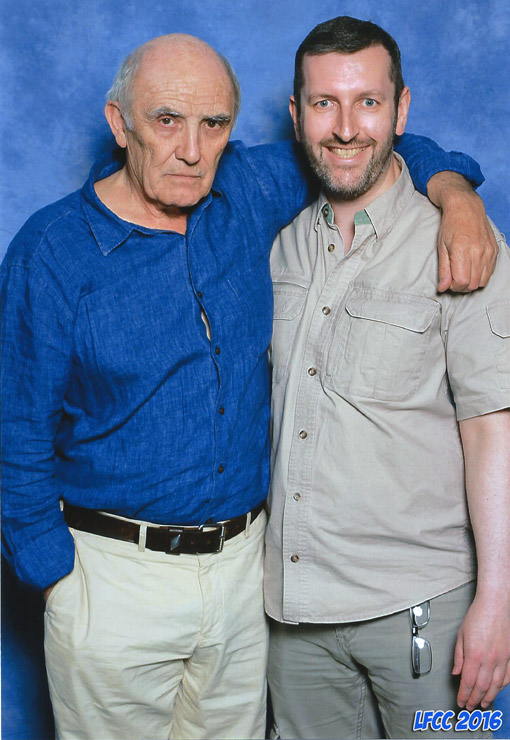 How tall is Donald Sumpter