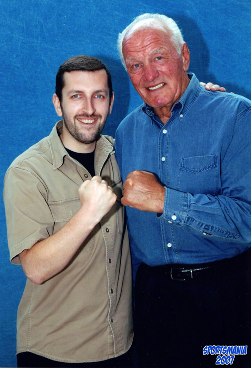 Henry Cooper at Convention Sportsmania 2007