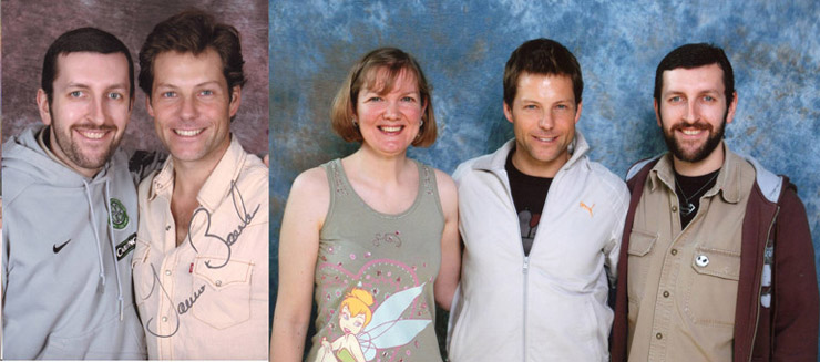 Jamie Bamber at Collectormania and Starfury