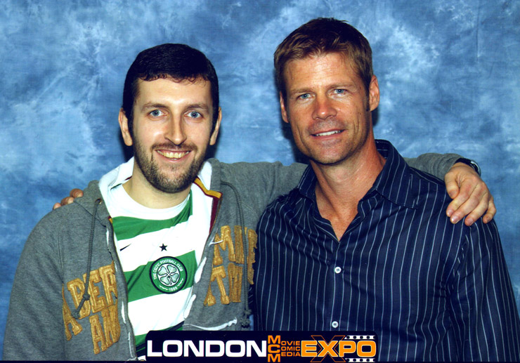 Joel Gretsch MCM London Expo