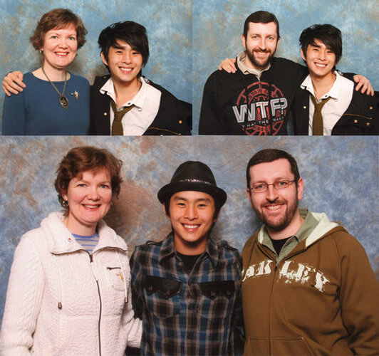 Justin Chon at Convention