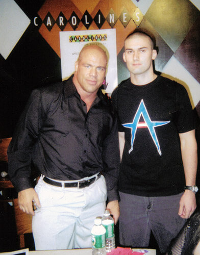 How tall is Kurt Angle