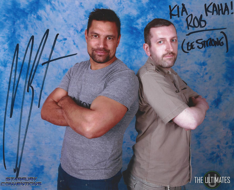 Manu Bennett at Ultimates