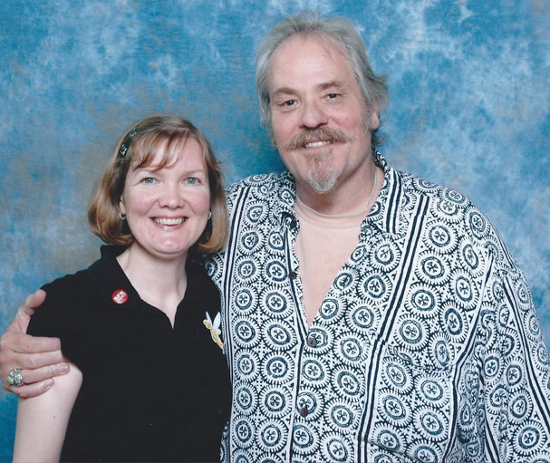 MC Gainey at Collectormania