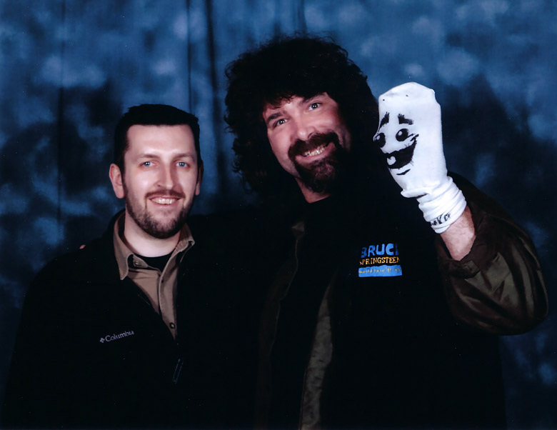 How tall is Mick Foley