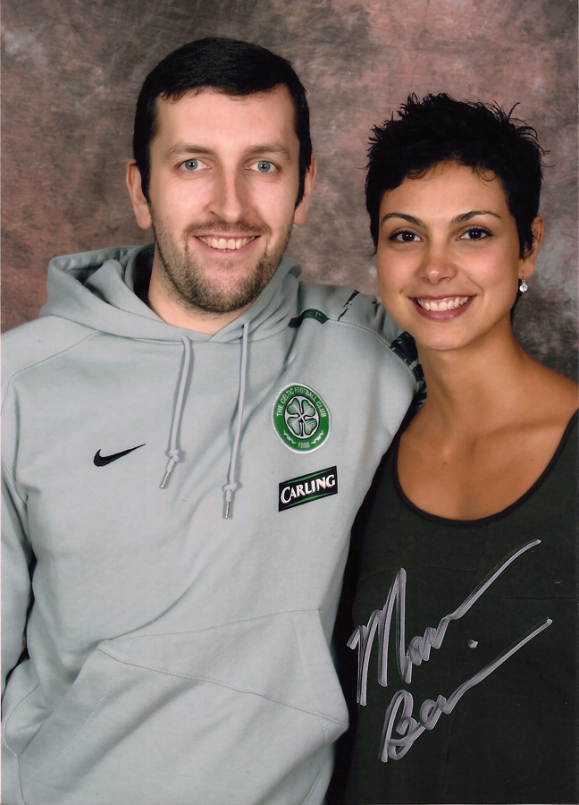 How tall is Morena Baccarin