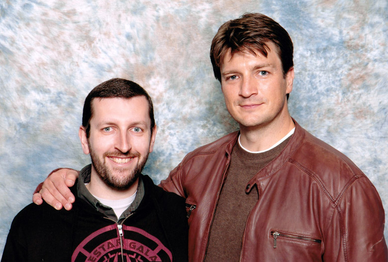 How tall is Nathan Fillion