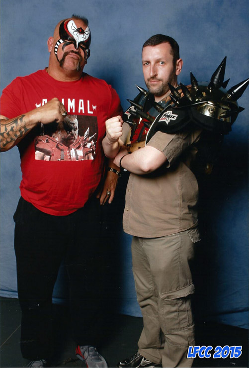 How tall is Road Warrior Animal