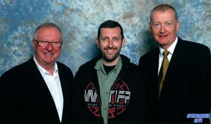 Dennis Taylor and Steve Davis Sportsmania 2011