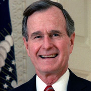 Height of George H. W. Bush