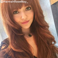 Height of Hannah Rose May