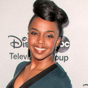 Height of Jerrika Hinton