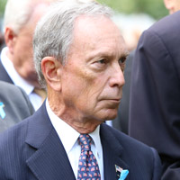 Height of Mike Bloomberg