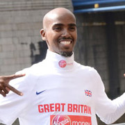 Height of Mo Farah