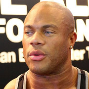 Height of Phil Heath
