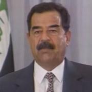 Height of Saddam Hussein