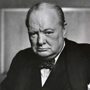 Height of Winston Churchill