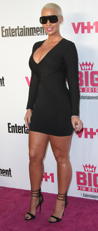 How tall is Amber Rose