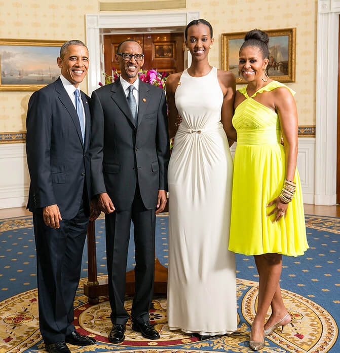 How tall is Ange Kagame