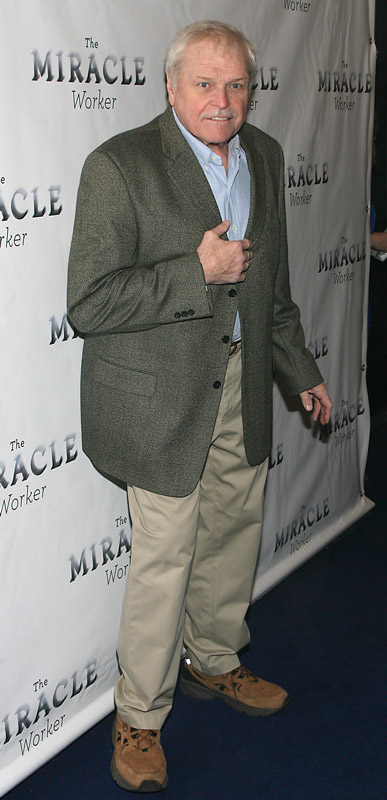 How tall is Brian Dennehy