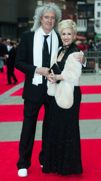 How tall is Brian May