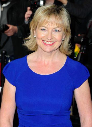 Carol Kirkwood's height is 5ft 7