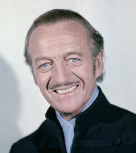 How tall is David Niven