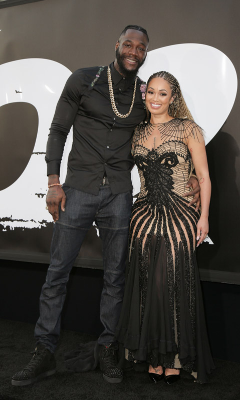 How tall is Deontay Wilder