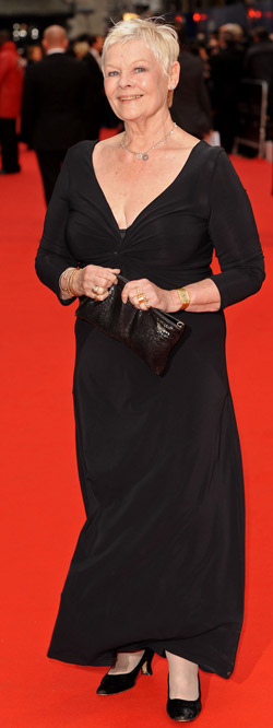 How tall is Judy Dench