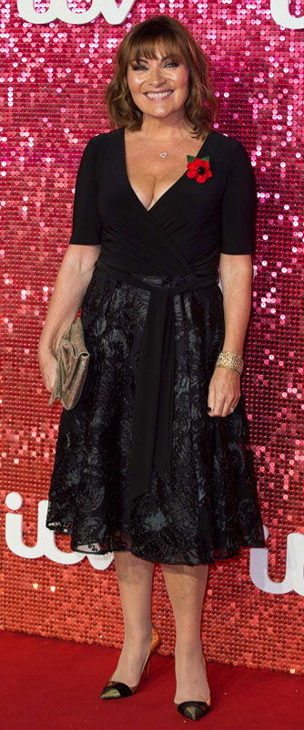 How tall is Lorraine Kelly