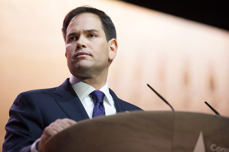 How tall is Marco Rubio