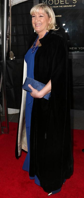 How tall is Marine Le Pen