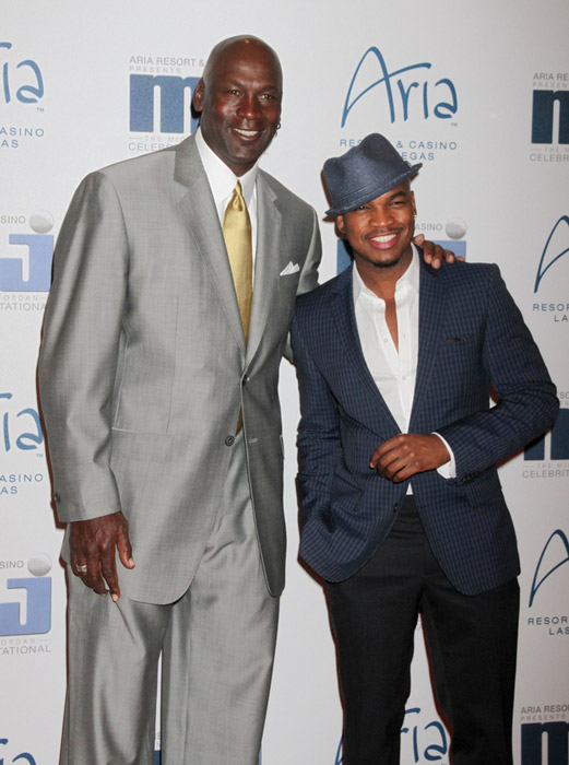 Michael With 5ft 8 NeYo Photos By PR Keith Allison Basketball PlayersMichael Heights