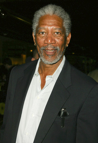How tall is Morgan Freeman