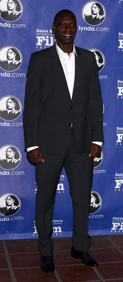How tall is Omar Sy