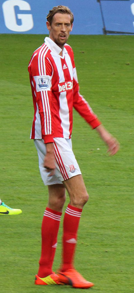 peter crouch height how tall