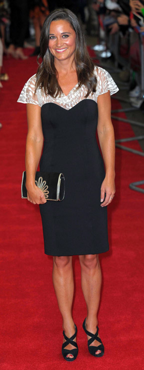 How tall is Pippa Middleton