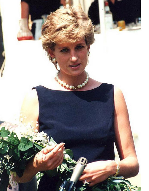 How tall was Princess Diana