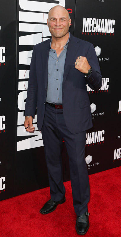 How tall is Randy Couture