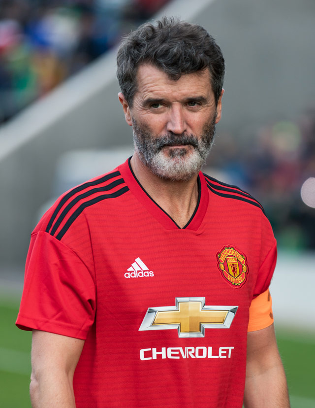 How tall is Roy Keane